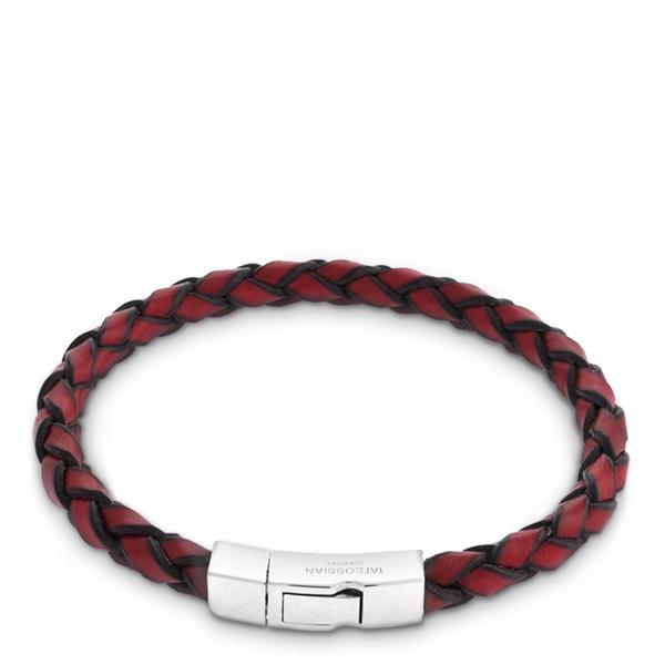 mens_bracelets_silver_click_scoubidou_red